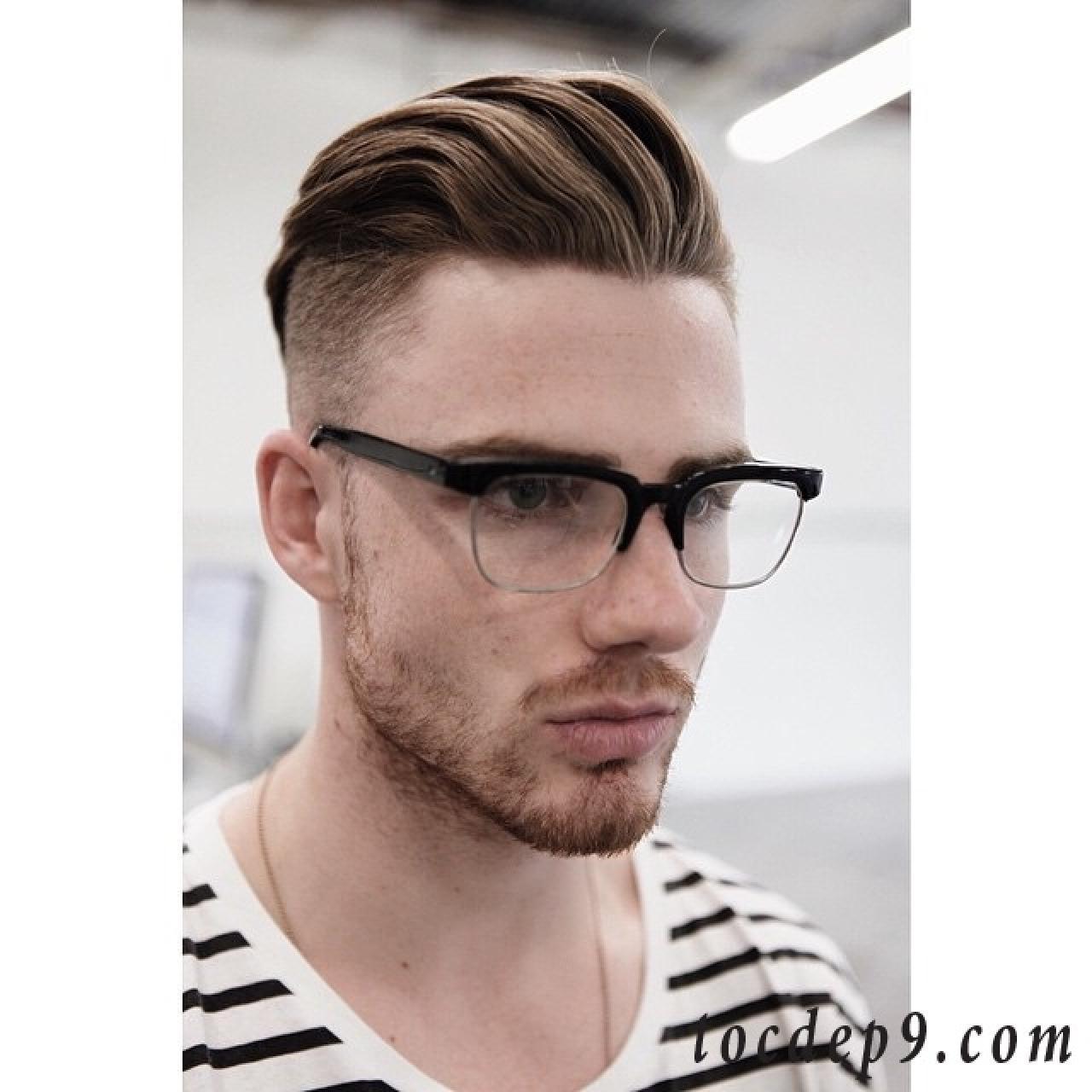 4 kiểu tóc nam undercut ngắn để mái đẹp cho học sinh cấp 3 đến trường 2019
