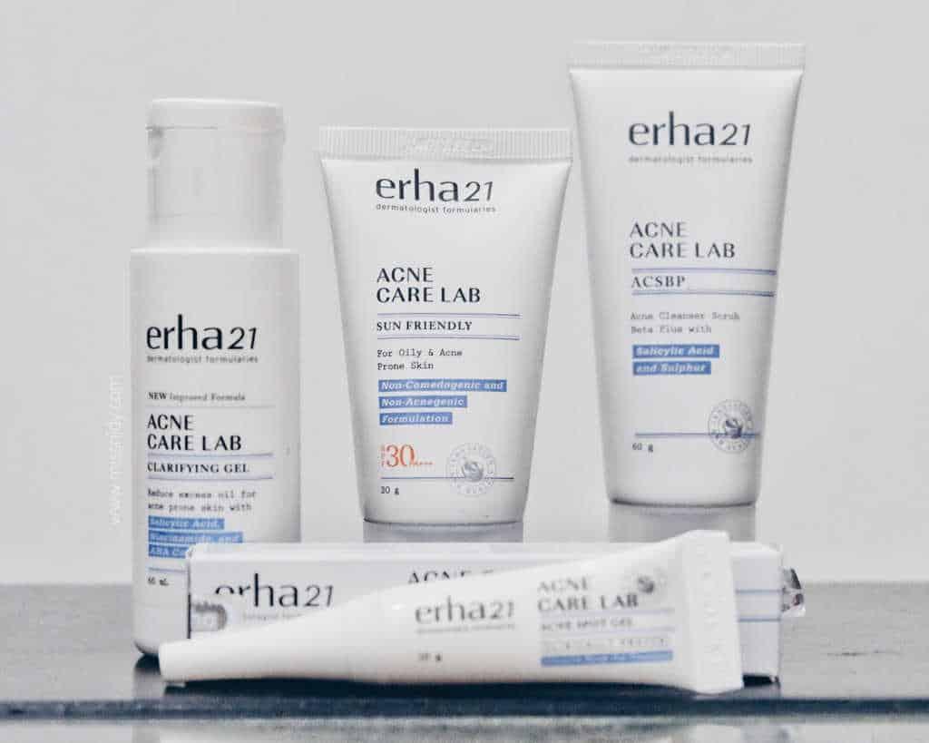 Erha 21 Acne Care Lab Acne Clarifying Gel