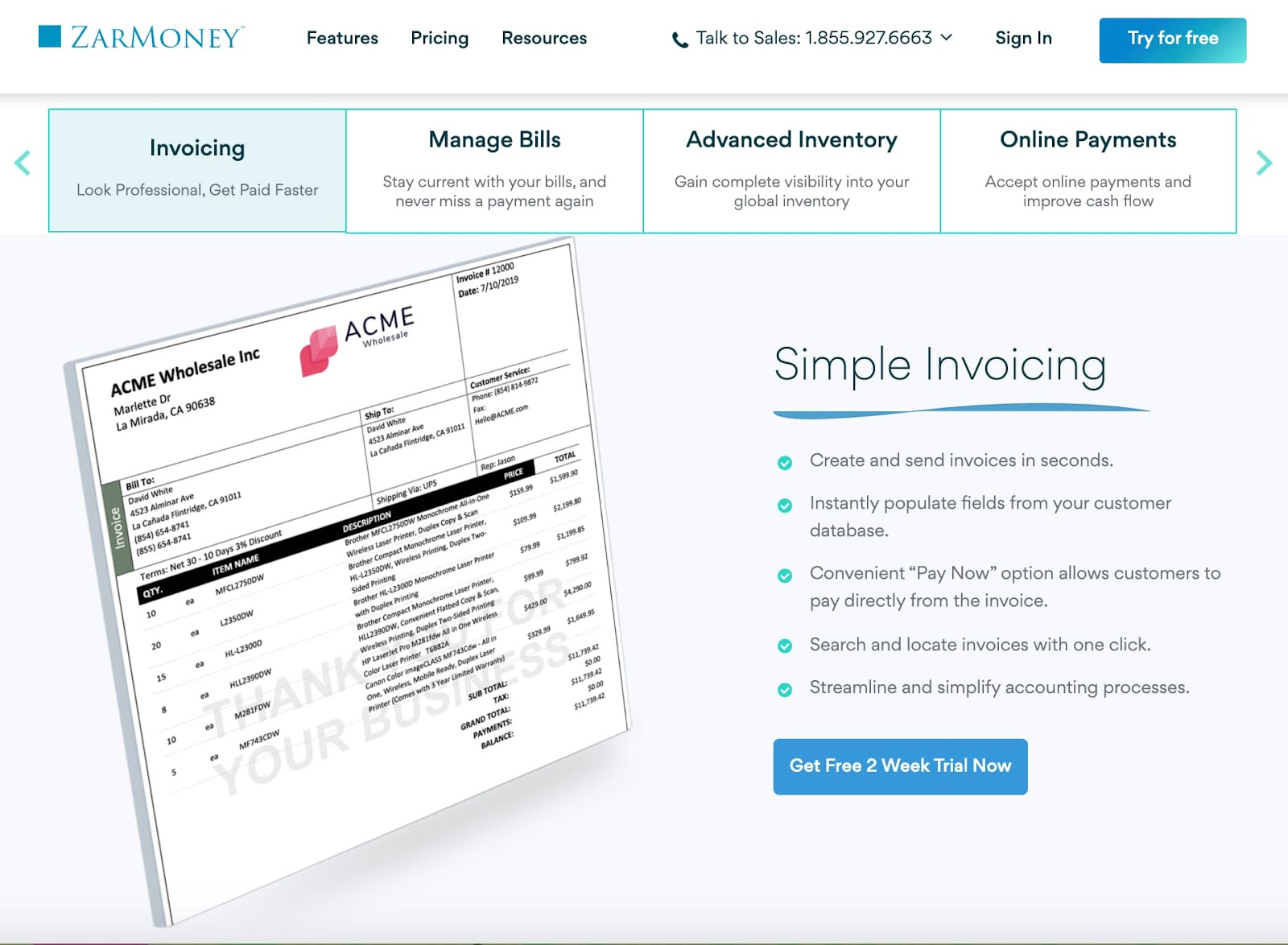Small Business Accounting Software ZarMoney