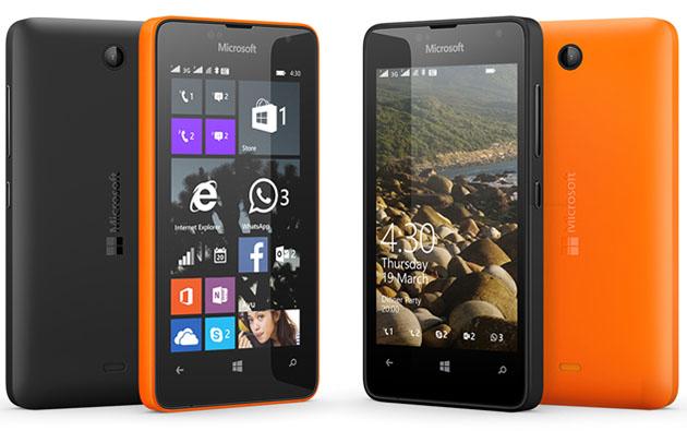 Lumia 430 black and orange colour.jpg