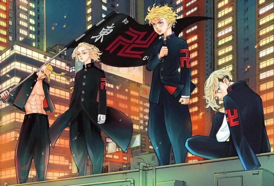 Imagem promocional de Tokyo Revengers.