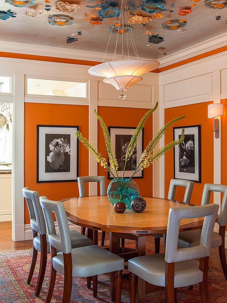 Warm Up Your Dining Room Space