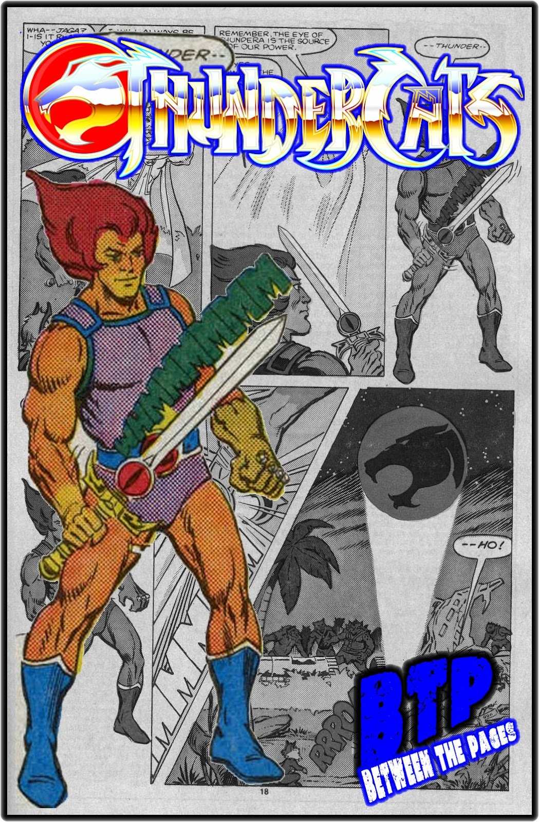 Lion-O and The Sword of Omens