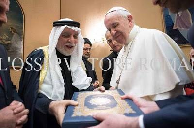 Σε Σεΐχη αναβαθμίστηκε ο Πάπας Φραγκίσκος - Εικόνα1