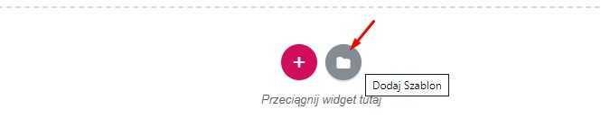 Przeciągnij widget