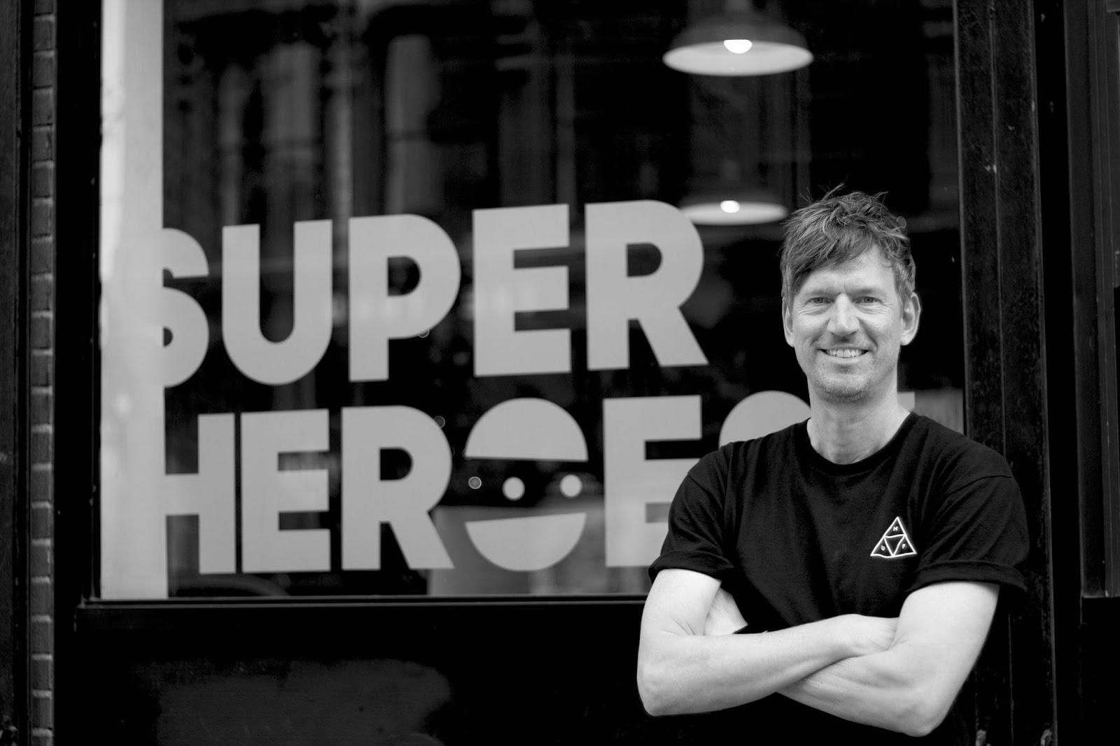 Rogier Vijverberg is één van de founders van Super Heroes
