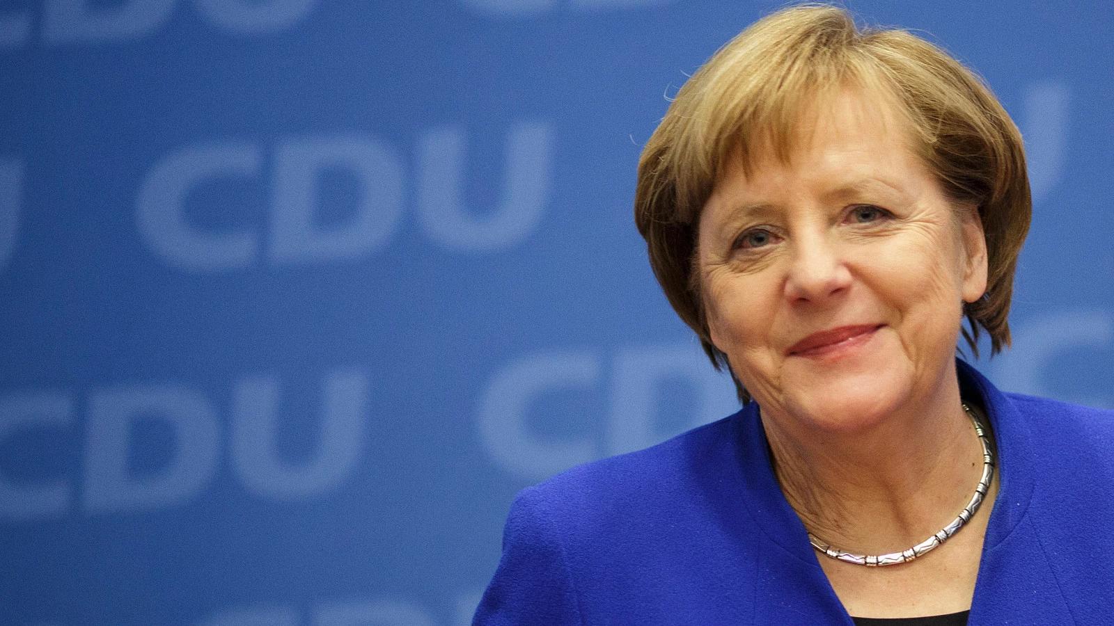 """Thủ tướng Đức Angela Merkel Merkel: """"Tham vọng không phải là sai lầm"""""""