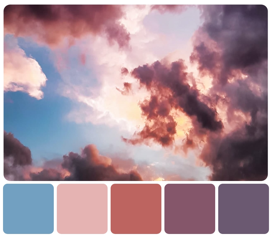sky color palette