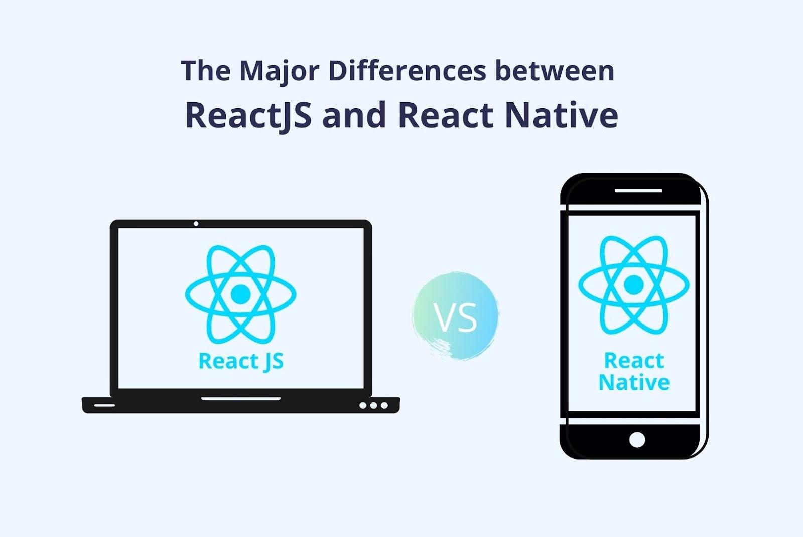 Reactjs vs React Native: Key Differences
