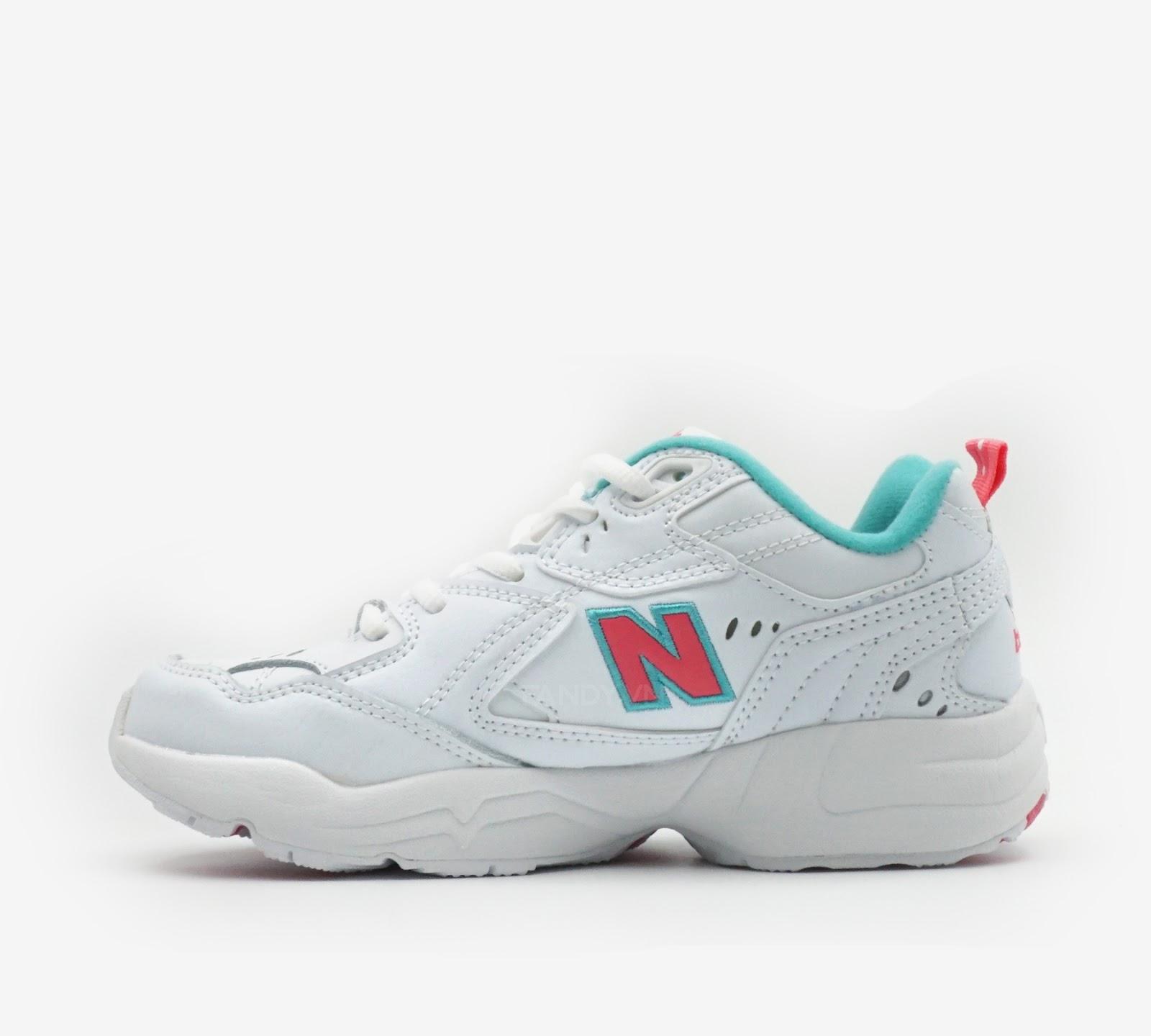 Giày New Balance 608  White Pink