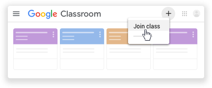 Click Join class