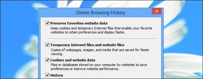 deleting pc cache