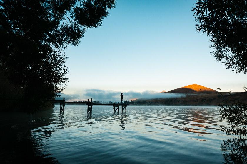 Lake Hayes.