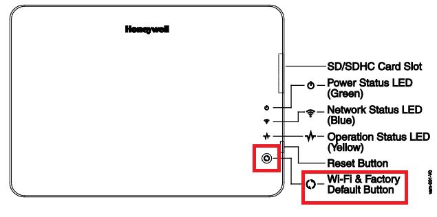 how do i setup the honeywell vam for wifi