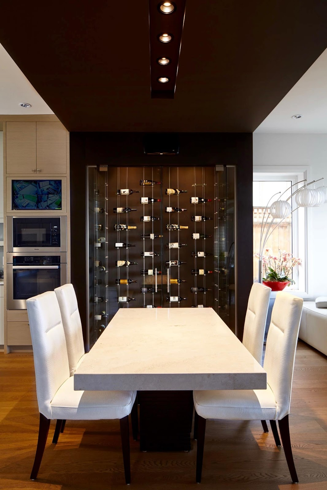 Make Your Own Wine Focal Point on Wall