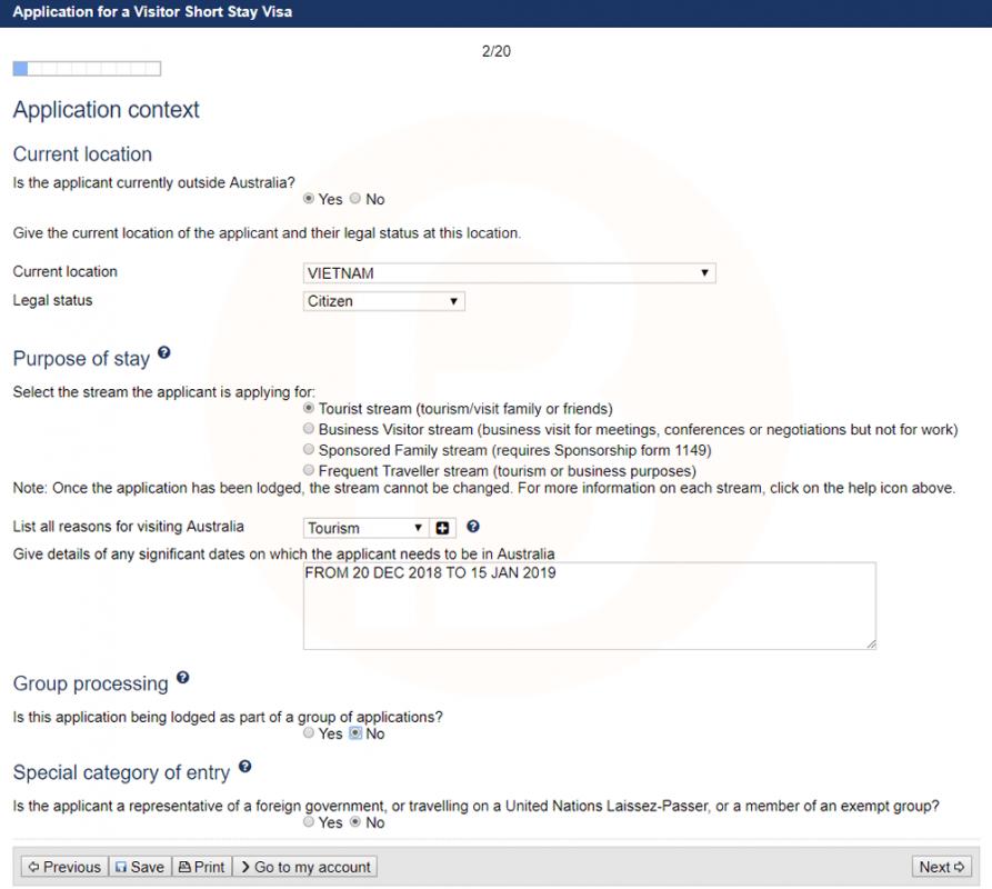 Kết quả hình ảnh cho trang quản lý visa online của Bộ Di trú Úc