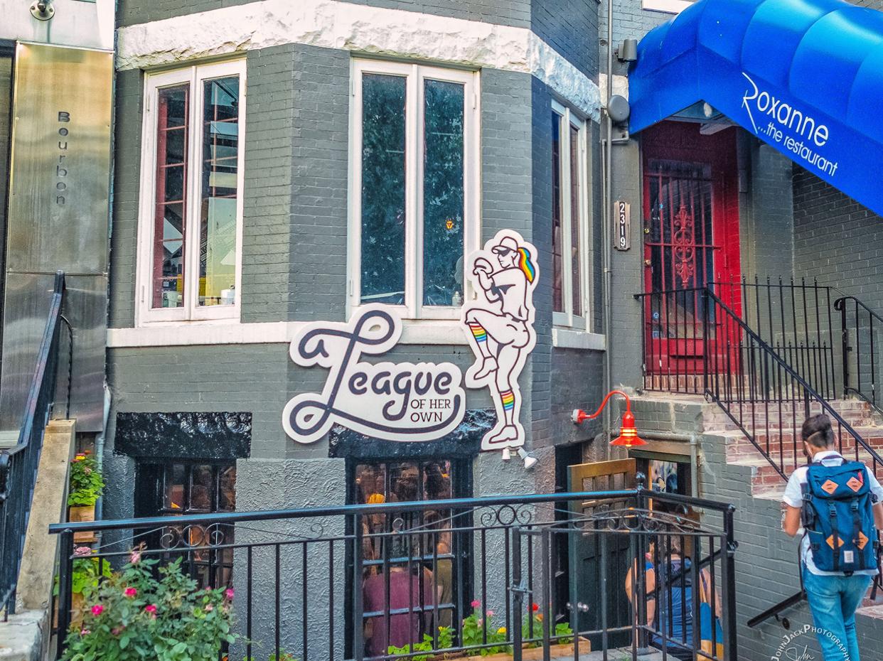 ALOHO bar in D.C.