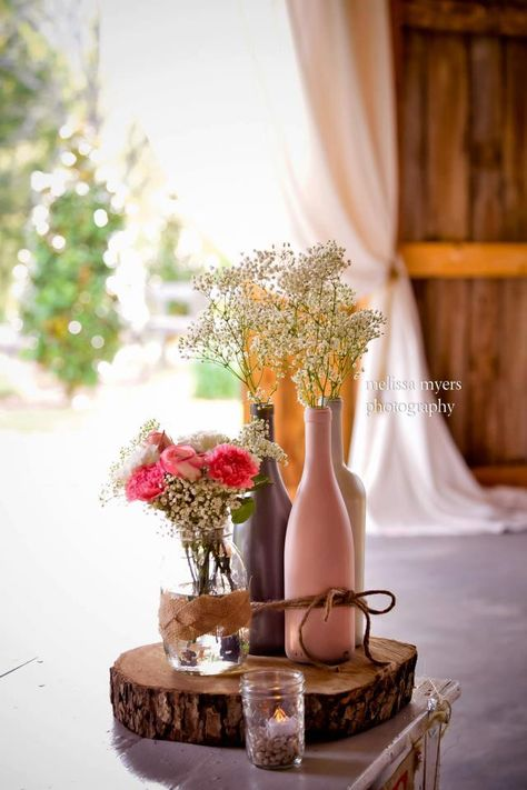 jar flower centerpieces