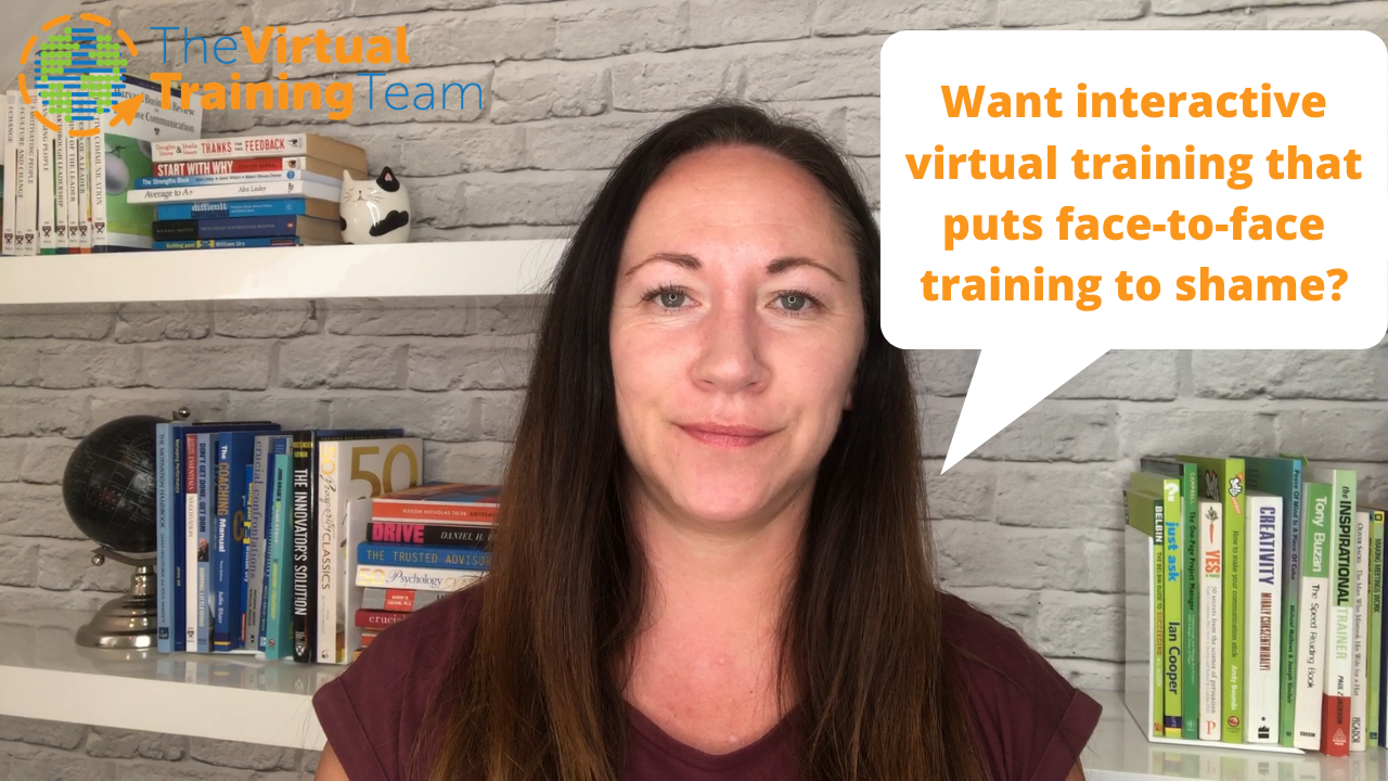 Why virtual training?
