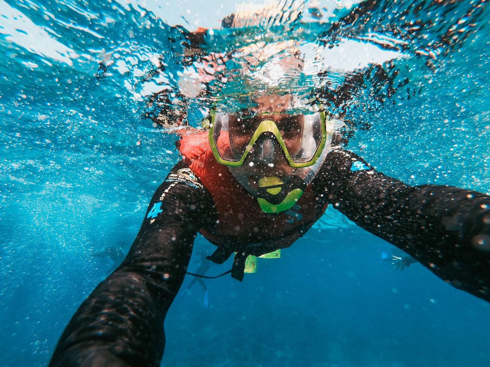 Snorkeling-water-sports-in-kauai