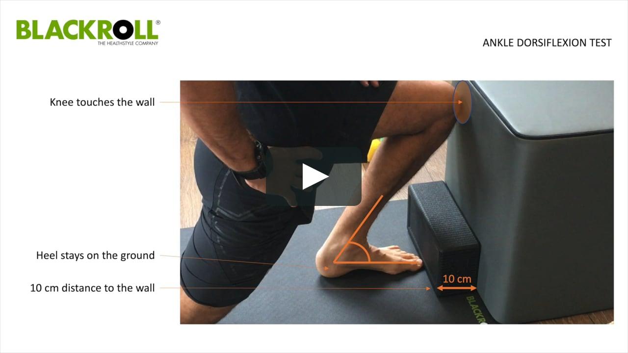 Assessment - Ankle Dorsiflexion Test on Vimeo