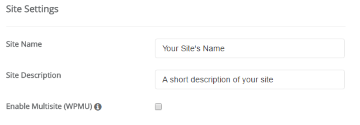 WordPress-site-settings