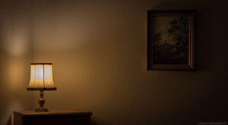 睡覺光線示意圖
