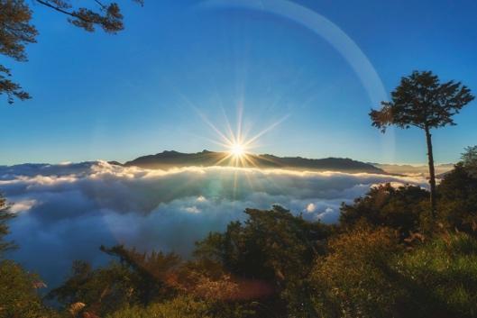 早上看到阿里山的日出定能令你的旅程帶來生機