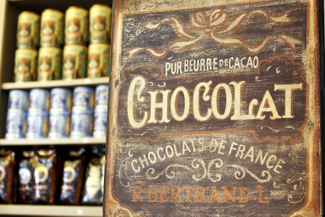 Chocolaterie Van Hoorebeke in Ghent