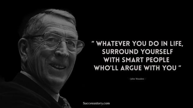 John Wooden Quotes | Famous Quotes | SuccessStory