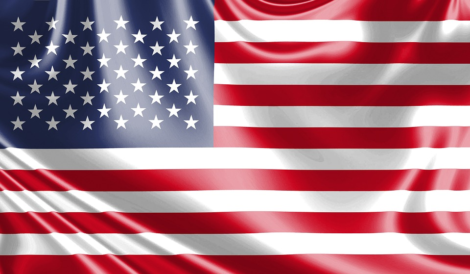 Free illustration: Usa Flag, Flag In The Wind - Free Image on ...