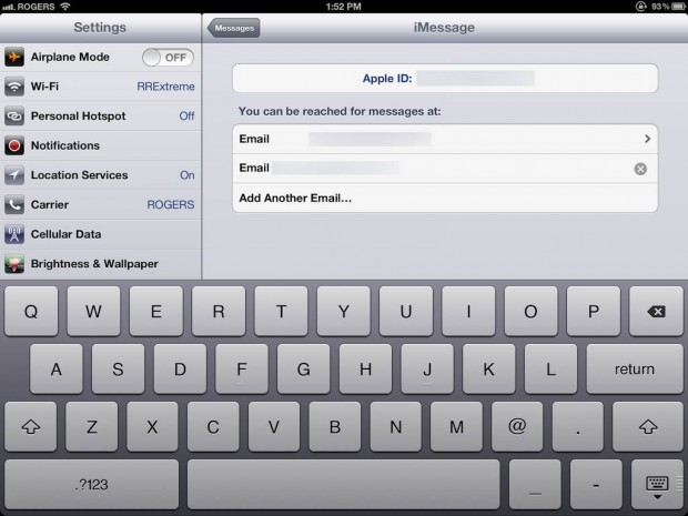 how to set up an imessage account