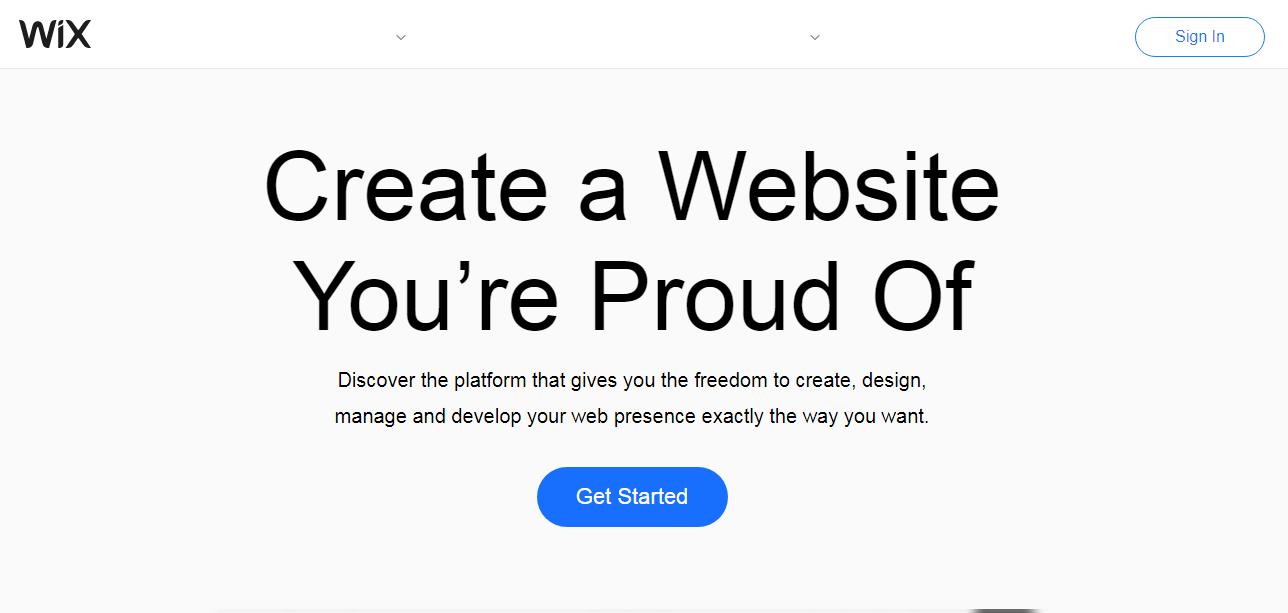 تصميم مواقع ويكس