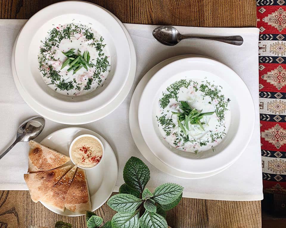 Холодный суп язма с овощами, куриный или мясной – великолепная сытная прохлада в летний день!
