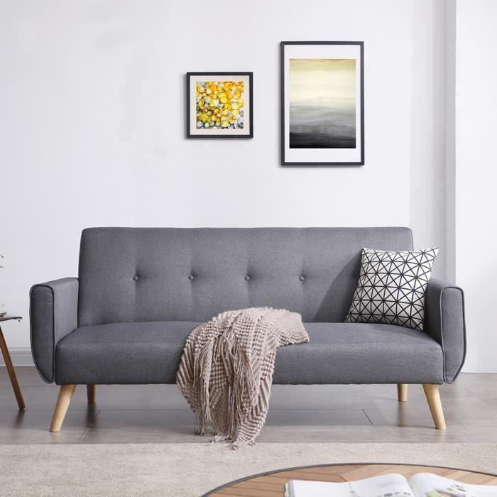 canapé de style scandinave pour espace détente