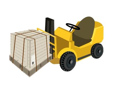como exportar carretilla pallets
