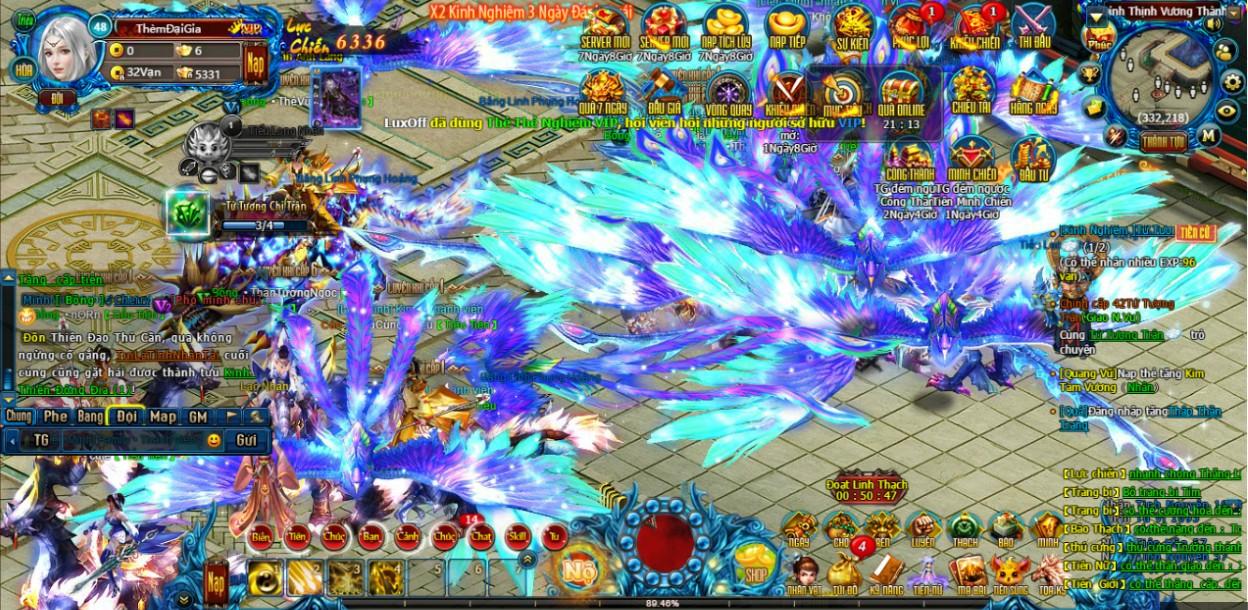 Hình ảnh rừng người chơi close beta