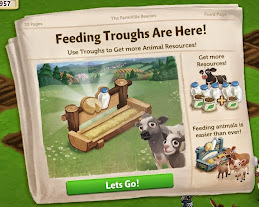 farmville 2 free water 25x and Feeding Troughs update