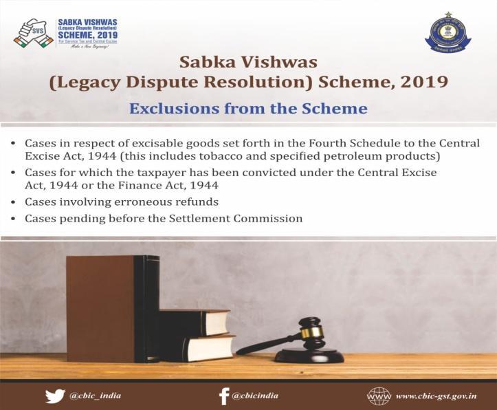 Image result for Sabka Vishwas – Legacy Dispute Resolution Scheme