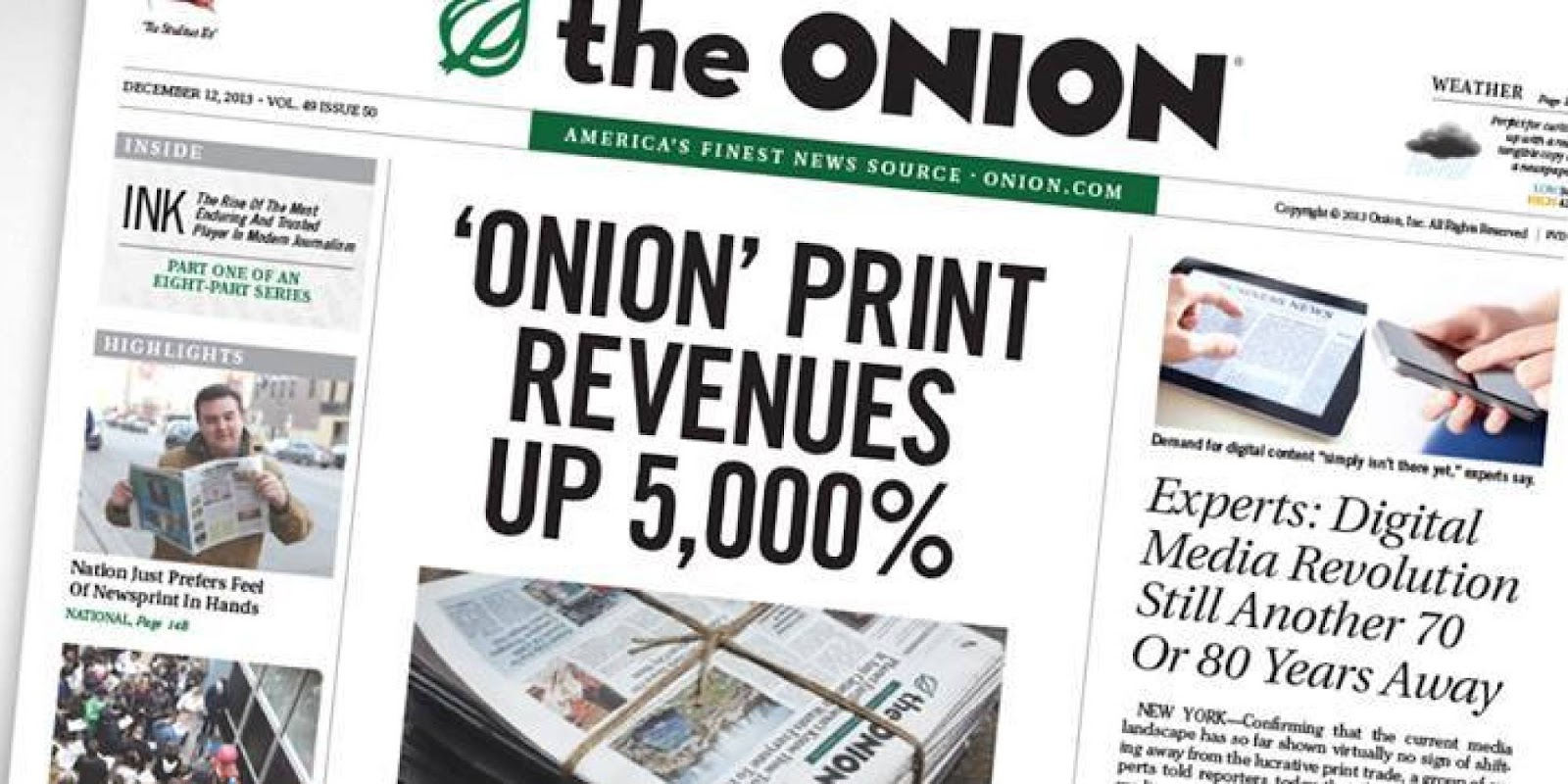 Image result for the onion