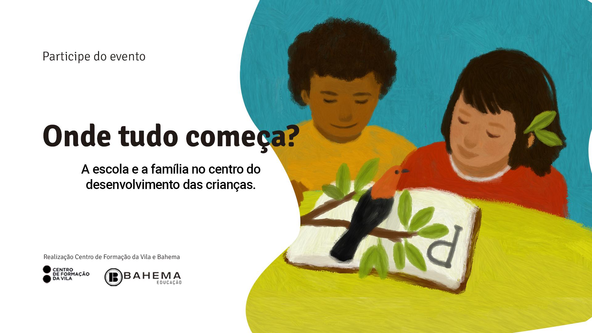 A imagem mostra o cartaz de divulgação de um curso para formadores de educação infantil.