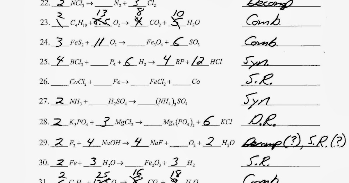 Rearranging Atoms Worksheet Answers - Worksheet List