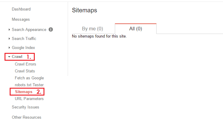 How to Submit Blogger Sitemap to Search Console?