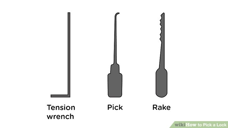 is it safe to pick my own locks? Tools necessary