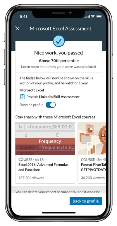LinkedIn Skill Assessments, una manera para que los usuarios verifiquen sus habilidades 1