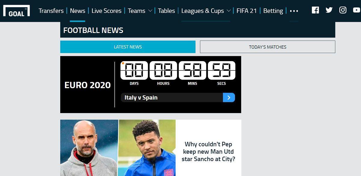 Top 9 trang tin tức bóng đá thể thao hot nhất tại India