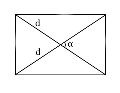 две диагонали прямоугольника