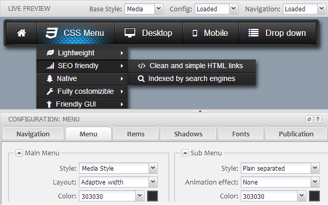thesis drop down menu 1.8 Thesis 20 guide – all about columns galore you can select this from the packages drop down menu i did this in 18 but couldn't find way to do in thesis 20.