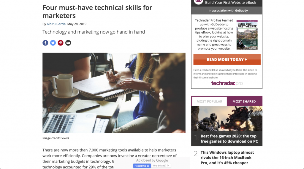 Vier technische Fähigkeiten, die Marketing-Profis beherrschen sollten – TechRadar