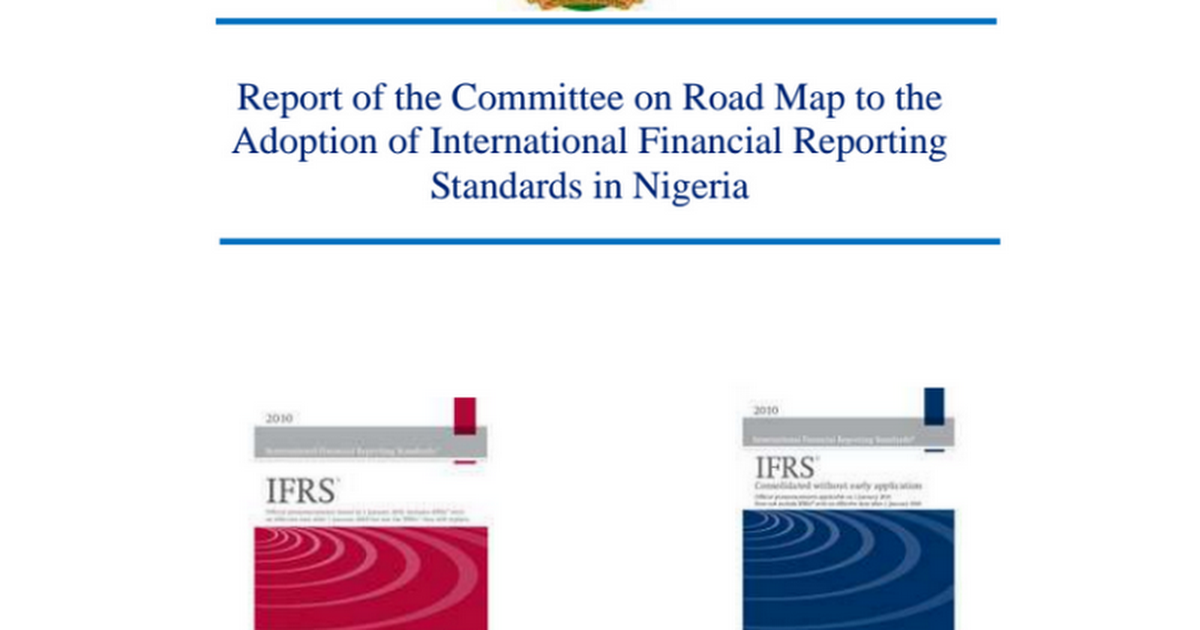 the development and adoption of the international financial reporting standards in the republic of b The international accounting standards committee (iasc) was formed in 1973 to develop international accounting standards (lass) universally acceptable in all countries the so-called iosco agreement significantly enhanced the iasc's legitimacy as the international accounting standard setter.